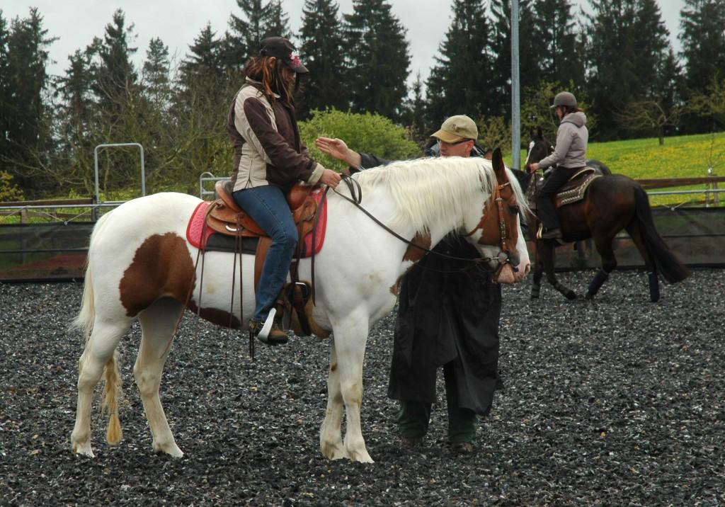 Präzision ist gefragt: Der Sitz eines Reiters entscheidet über den Erfolg einer Übung.