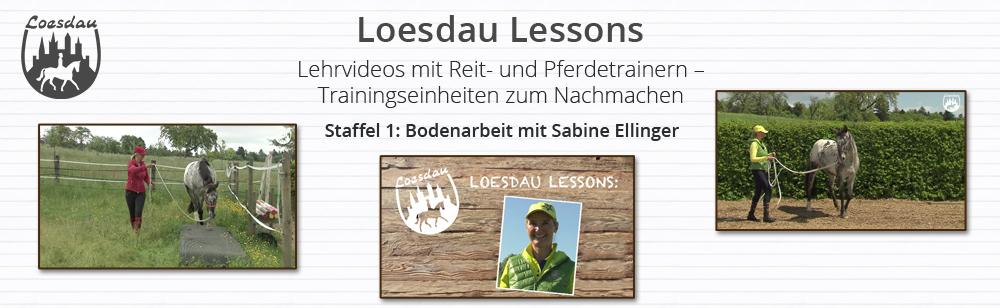 Loesdau Lessons: Bodenarbeit mit Sabine Ellinger