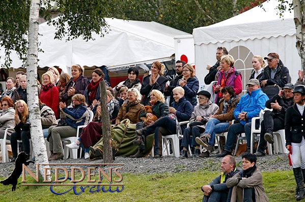 Die Zuschauer auf dem Islandpferdesportturnier in Aegidienberg