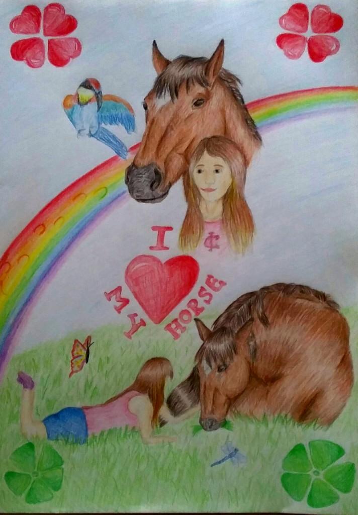 """Das Motto """"I love my horse"""" toll umgesetzt: Wir sagen danke!"""