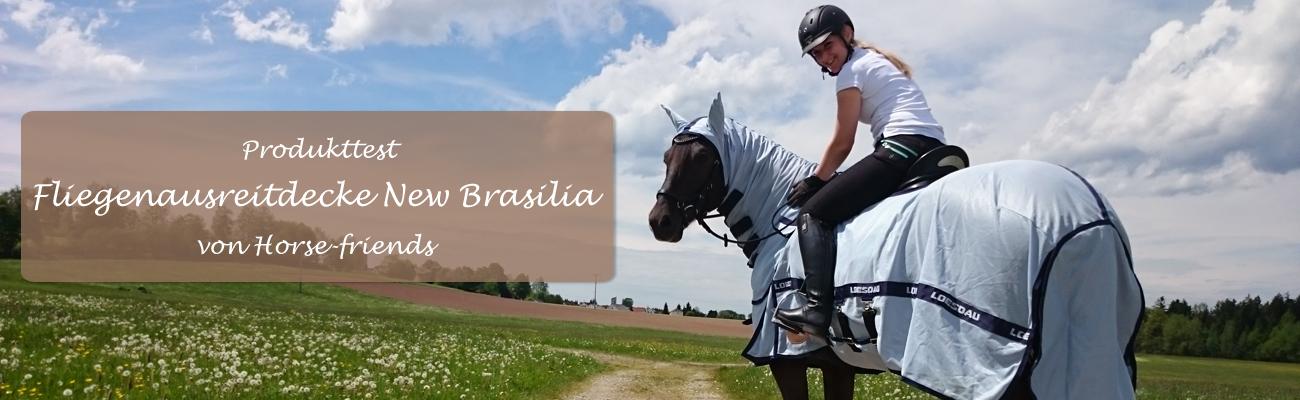 Produkttest: Fliegenausreitdecke New Brasilia von Horse-friends