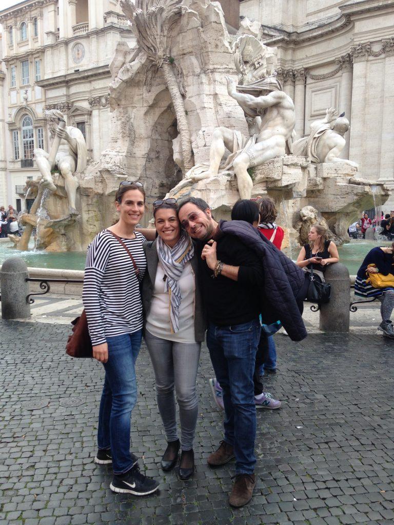 Wir genossen die Auszeit in Rom und waren froh, dass sich auch Belinos gut erholen konnte.
