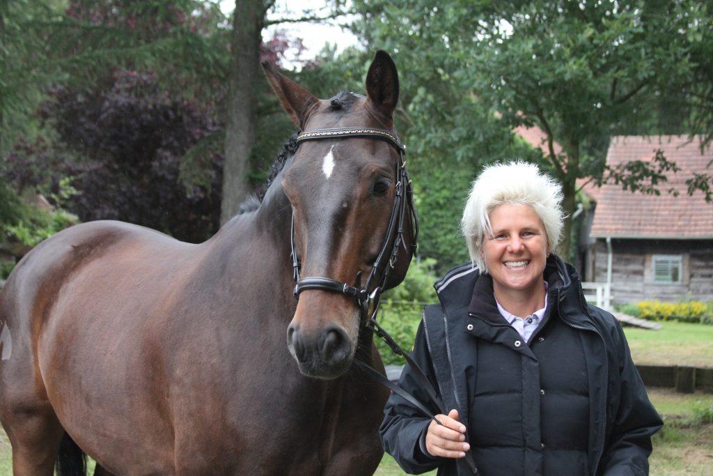 Pferden ein gutes Gefühl geben, um sie zu motivieren, ist Uta Gräfs Tipp.