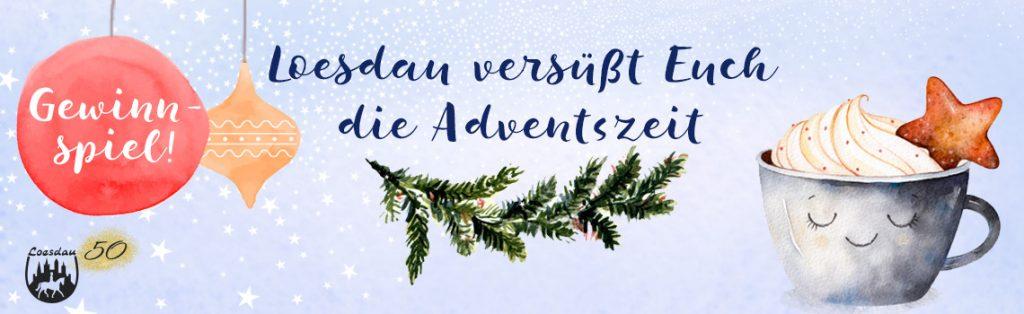 Loesdau versüßt euch den Advent. Spielt mit und gewinnt einen 50 € Shopping-Gutschein!