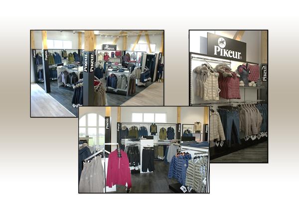 Unser Pikeur Shop-in-Shop mit den aktuellsten Kollektionen.