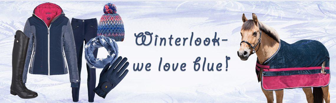 Winterlook – we love blue!