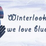 Winterlook – we love blue!