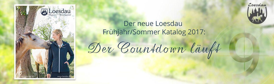 Der neue Loesdau Frühjahr/Sommer-Katalog 2017 kommt bald!