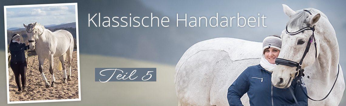 Klassische Handarbeit Teil 5: Spanischer Schritt