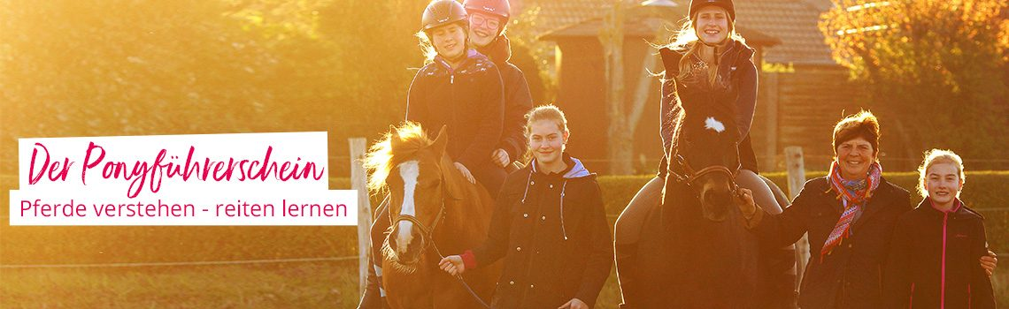 Loesdau unterstützt den Pony-Führerschein