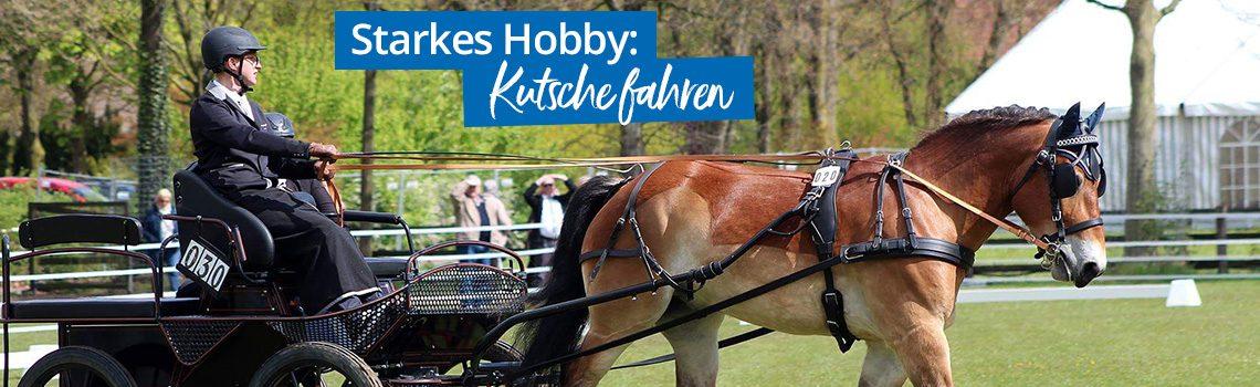 Starkes Hobby: Kutsche fahren