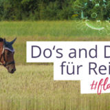 #flattenthecurve: Dos and Don'ts für Reiter