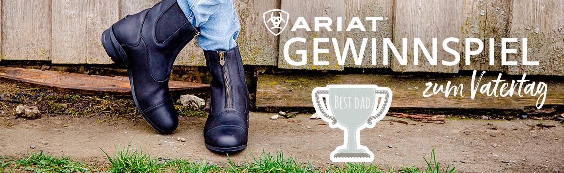 Stiefeletten Heritage von Ariat & Gewinnspiel zum Vatertag