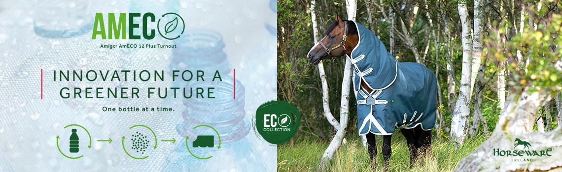 Nachhaltige Pferdedecke aus Plastikflaschen